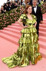 Julianne Moore At The 2019 Met Gala Celebrating Camp: Notes on Fashion in New York