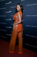 Justine Skye Attending Ozwald Boateng Harlem Runway Show in New York