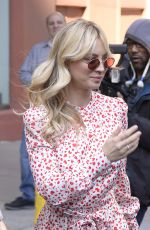 Kaley Cuoco Out in NYC