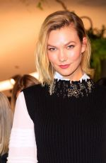 Karlie Kloss At Louis Vuitton Cruise 2020 Fashion Show at JFK Airport in New York City