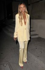 Karrueche Tran Leaving her birthday party at Catch Restautant in West Hollywood