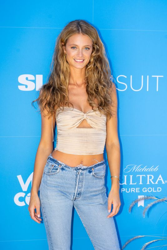 Kate Bock At Sports Illustrated Swimsuit On Location Day 2 at Ice Palace in Miami