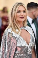 Kate Moss At The 2019 Met Gala Celebrating Camp: Notes on Fashion at Metropolitan Museum of Art in New York City