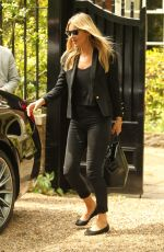 Kate Moss Leaving her north London home