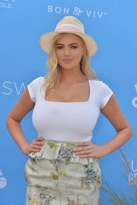 Kate Upton At Sports Illustrated Swimsuit On Location at Ice Palace Film Studios in Miami