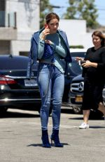 Katharine McPhee In tight jeans out for lunch in West Hollywood