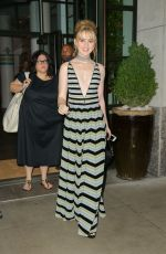 Kathryn Newton Outside her hotel in NY