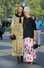 Katie Holmes and her mother Kathleen arrive at the ballet in New York