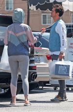 Katy Perry At Brentwood Country Mart in Santa Monica
