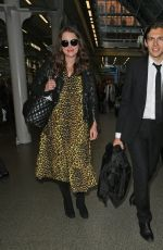 Keira Knightley Arriving in London
