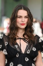 Keira Knightley At Chanel Cruise Collection 2020 show in Paris