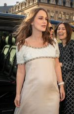 Keira Knightley At CHANEL J12 cocktail party in Paris