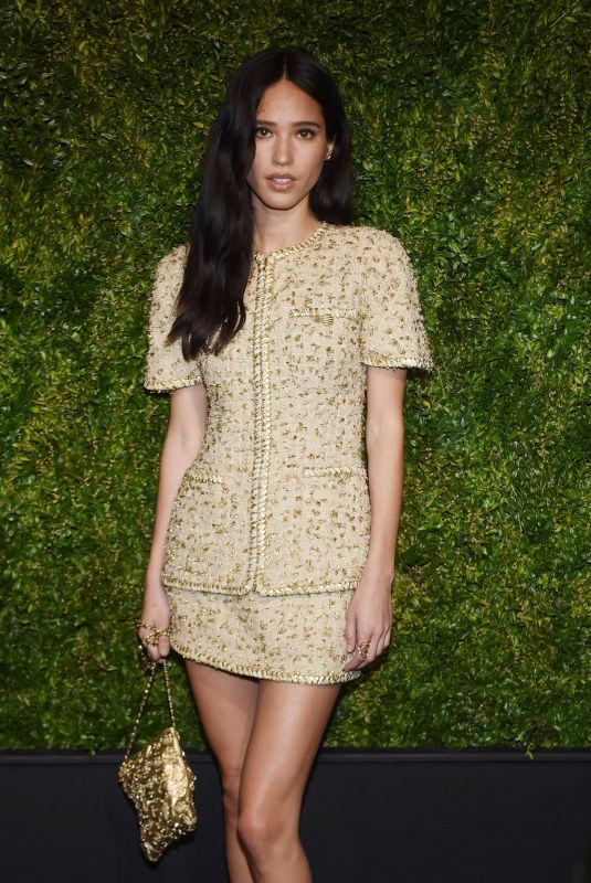 Kelsey Asbille Chow At 14th Annual Tribeca Film Festival Artists Dinner hosted by Chanel, NYC
