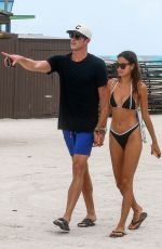 Kelsey Merritt Spotted flaunting her fabulous figure in Miami