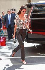 Kendall Jenner Goes to dress fittings in NYC ahead of the Met Gala