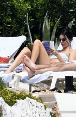 Kendall Jenner In a bikini at the pool at the Hotel du Cap-Eden-Roc in Cannes