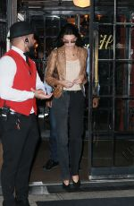 Kendall Jenner Leaves The Bowery Hotel in New York City