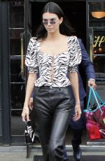 Kendall Jenner Leaving The Bowery Hotel in New York