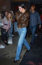 Kendall Jenner Leaving the Bowery Hotel in NYC