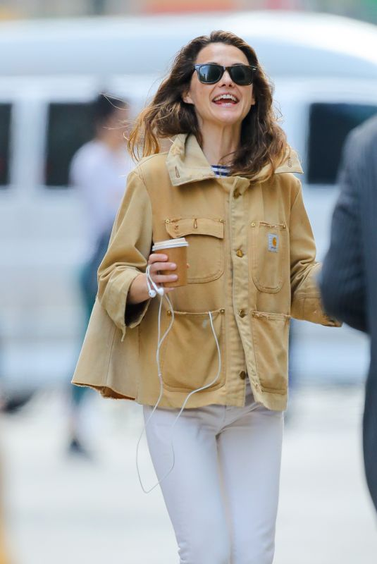 Keri Russell Out in New York City