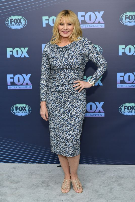 Kim Cattrall At Fox Upfront Presentation in NYC
