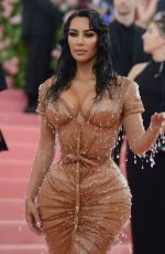 Kim Kardashian At 2019 Met Gala Celebrating Camp: Notes on Fashion in NYC