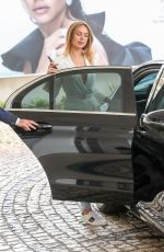 Kimberley Garner Leaving the Martinez Hotel in Cannes