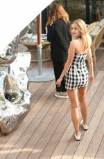 Kimberley Garner Out in Cannes France