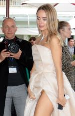Kimberley Garner Shows some warprobe as she arrives at Hotel Martinez in Cannes