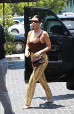 Kourtney Kardashian On a hot day at Fred Segal in West Hollywood
