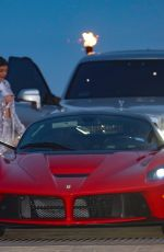 Kylie Jenner Out for dinner in Malibu