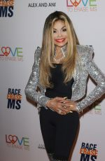 La Toya Jackson Arrives to The 26th Annual Race to Erase MS Gala held at The Beverly Hilton in Beverly Hills