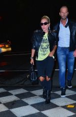 Lady Gaga Arrives at the Pierre Hotel in New York
