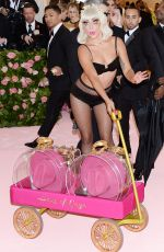 Lady Gaga Attends the 2019 Met Gala Celebrating Camp: Notes on Fashion in New York