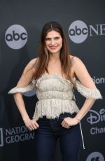 Lake Bell At ABC Walt Disney Television Upfront Presentation in New York