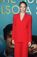 Larsen Thompson At The Sun Is Also A Star Premiere in LA