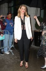Laura Dern Leaving The Whitby Hotel in New York