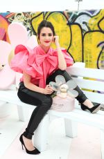 Laura Marano At Marc Jacobs Daisy Love Eau So Sweet Fragrance Pop-Up Event in LA