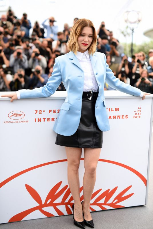 "Lea Seydoux At ""oh mercy!"" photocall - 72nd annual cannes film festival"