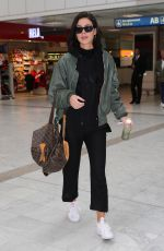 Lena Meyer-Landrut Seen at Nice Airport France,after attending 72nd Festival at Cannes