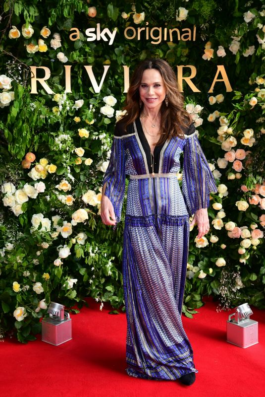 Lena Olin At Riviera Season Two premiere hosted at Saatchi Gallery - London