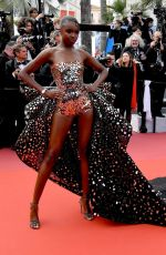 """Leomie Anderson Attends the screening of """"Once Upon A Time In Hollywood"""" during the 72nd annual Cannes Film Festival"""