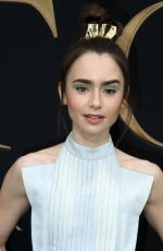 Lily Collins At L.A. Special Screening of Fox Searchlight Pictures