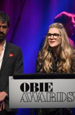 Lily Rabe At 64th Annual Obie Awards in New York City