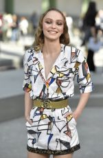 Lily-Rose Depp At Chanel Cruise Collection 2020 in Paris