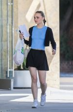Lily-Rose Depp Out in Beverly Hills