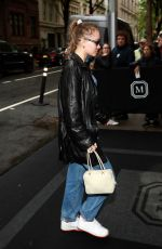 Lily-Rose Depp Outside The Mark Hotel in NYC
