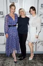 """Linda Cardellini Attend the Build Series to discuss """"Dead to Me"""" at Build Studio in New York City"""