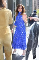 Linda Cardellini Outside SiriusXM in NYC