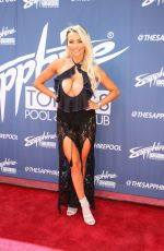 Lindsey Pelas At Sapphire Topless Pool and Dayclub in Las Vegas, Nevada